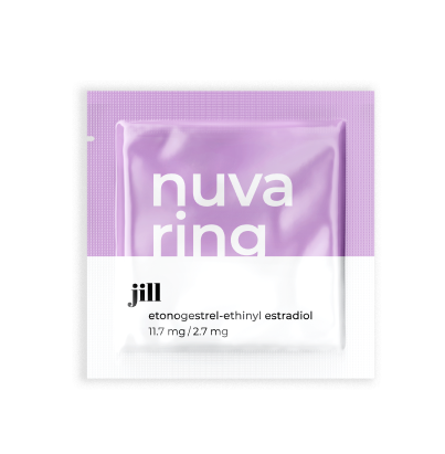 NuvaRing: A small and flexible vaginal ring used for contraception