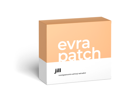 Evra patch: The most commonly used contraceptive patch worn on the skin